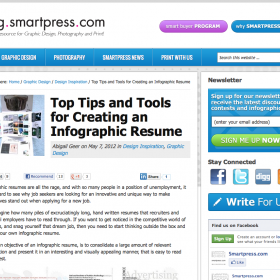 Top Tips and Tools for Creating an Infographic Resume